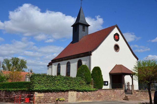 Behlenheim 67 l eglise saint georges