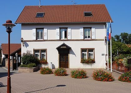 Behlenheim 67 la mairie
