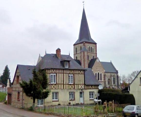 Bermonville seine maritime eglise et presbytere