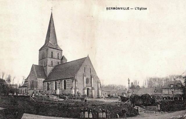 Bermonville seine maritime eglise