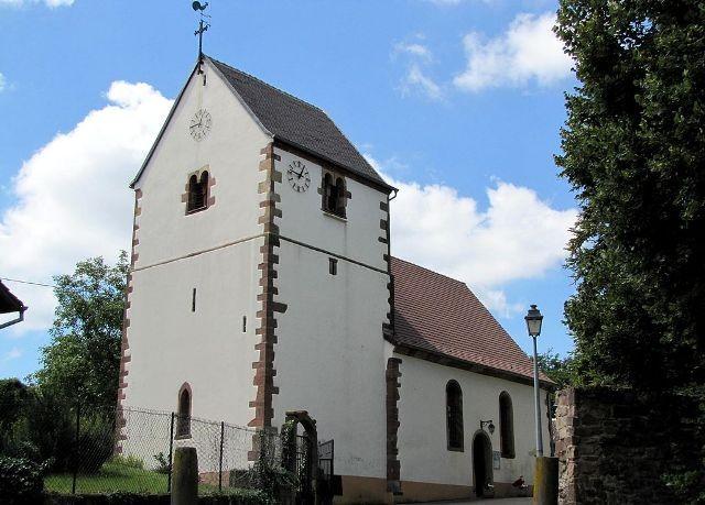 Berstett 67 reitwiller l eglise protestante saint michel