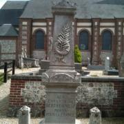 Bertheauville seine maritime monument aux morts