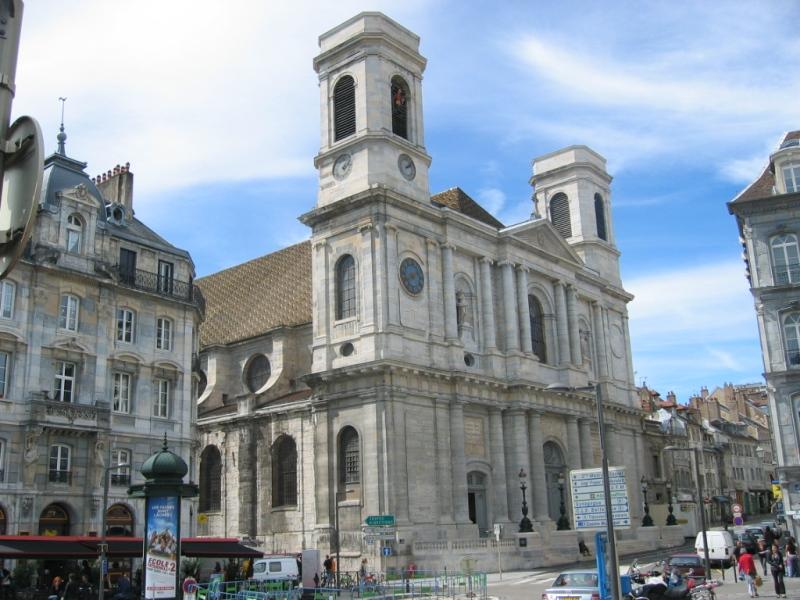 Besançon (Doubs) L'église de la Madeleine