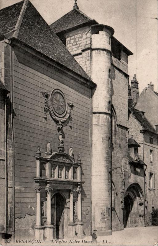 Besançon (Doubs) L'église Notre-Dame CPA