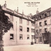 Besançon (Doubs) L'Hôtel de Paris CPA