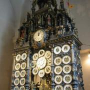 Besançon (Doubs) La cathédrale Saint-Jean, l'horloge astronomique