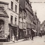 Besançon (Doubs) La rue Ronchaux CPA