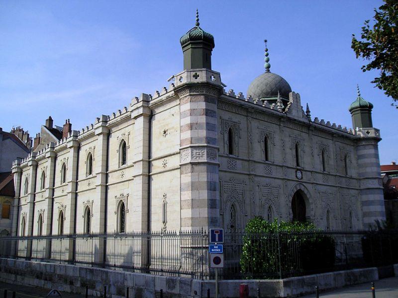 Besançon (Doubs) La synagogue