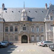 Besançon (Doubs) Le Palais de Justice