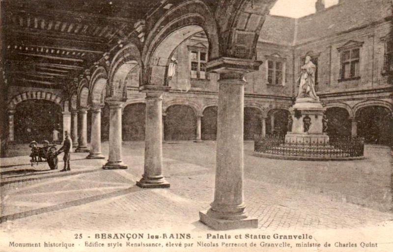 Besançon (Doubs) Le Palais Granvelle CPA