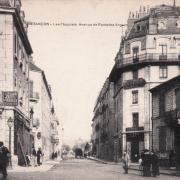 Besançon (Doubs) Les Chaprais, avenue de fontaine argent CPA
