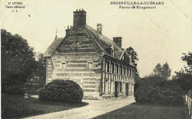 Beuzeville la guerard seine maritime ferme de rougemont cpa