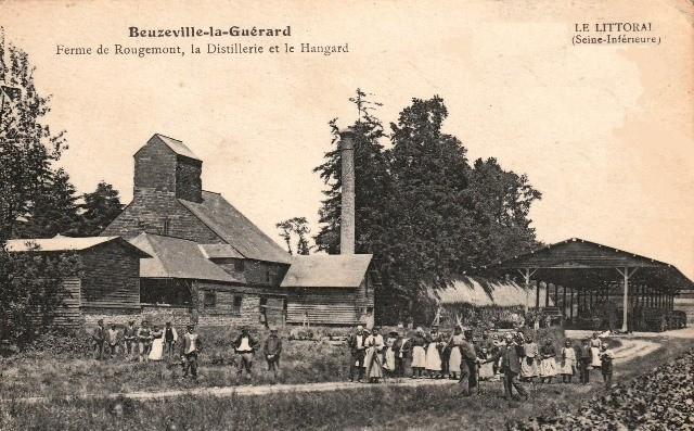 Beuzeville la guerard seine maritime la ferme de rougemont cpa