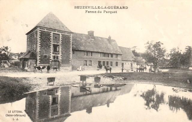 Beuzeville la guerard seine maritime la ferme du parquet cpa