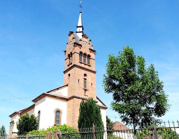 Bilwisheim 67 eglise saint etienne