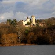 Blanzy (Saône-et-Loire) Le château du Plessis