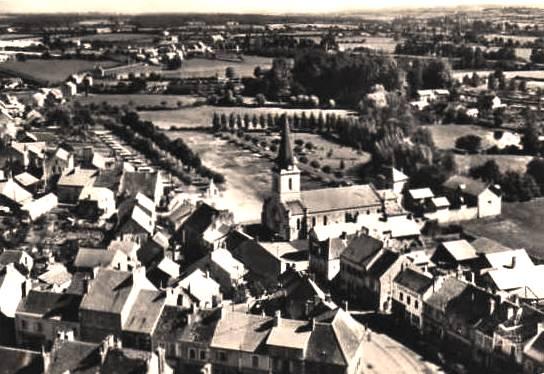 Blanzy (Saône-et-Loire) Vue générale CPA