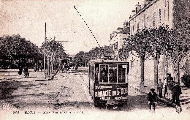 Blois (41) Avenue de la Gare CPA