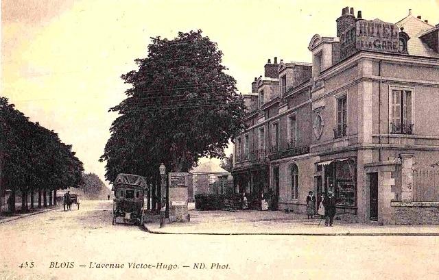 Blois (41)  Avenue Victor Hugo CPA