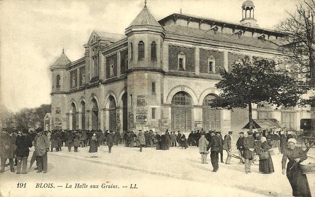 Blois (41) Halle aux grains CPA