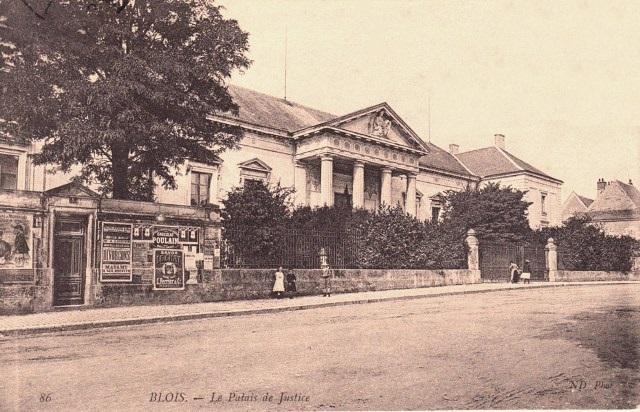 Blois (41) Palais de Justice CPA