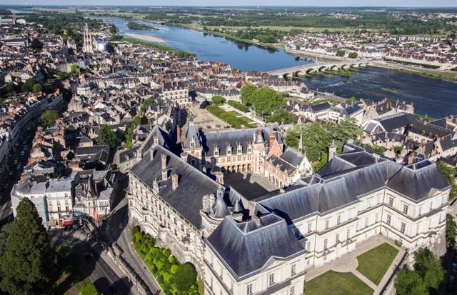 Blois (41) Vue aérienne