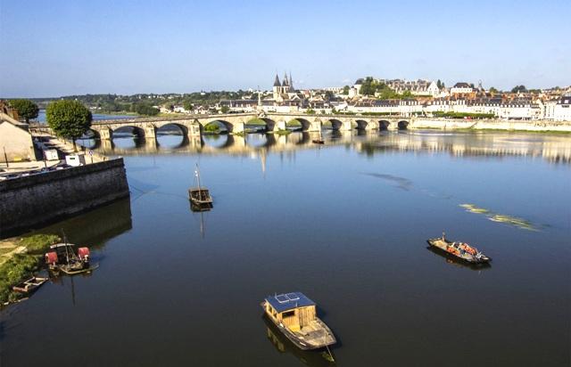 Blois (41) Vue générale