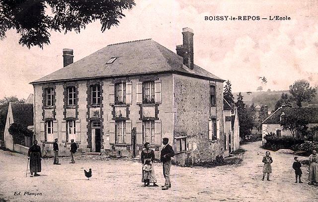 Boissy-le-Repos (51) L'école CPA