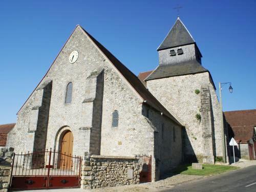 Boissy-le-Repos (51) L'église Saint-Martin