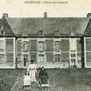 Bolleville seine maritime chateau de calmesnil cpa