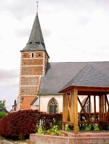 Bolleville seine maritime eglise saint pierre et saint paul