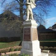 Bolleville seine maritime monument aux morts