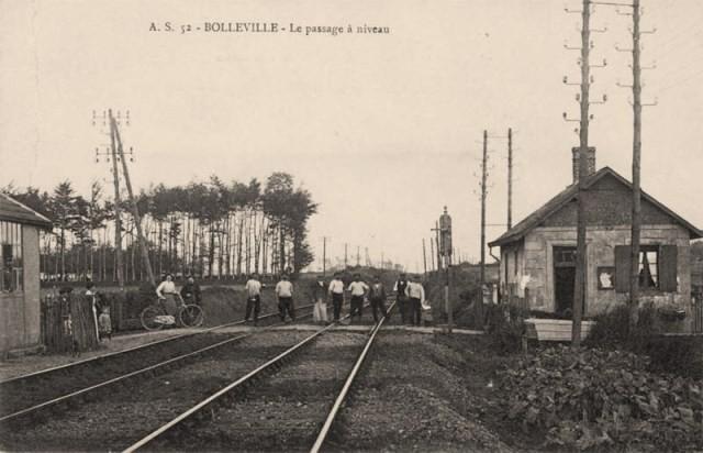 Bolleville seine maritime passage a niveau cpa