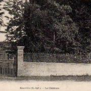 Bosville seine maritime chateau cpa