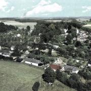 Bosville seine maritime vue aerienne cpa
