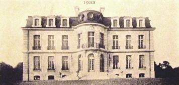Bouconville-Vauclair (Aisne) CPA Château de La Bove 1933