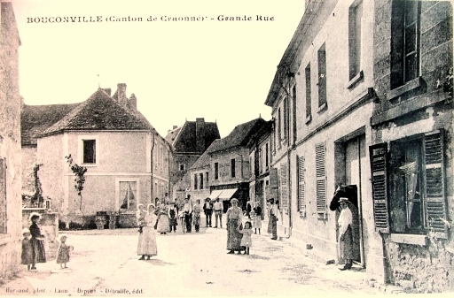 Bouconville-Vauclair (Aisne) CPA Grande rue