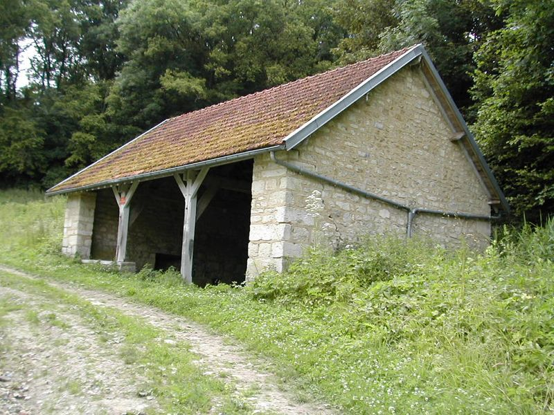 Bouconville-Vauclair (Aisne) Lavoir