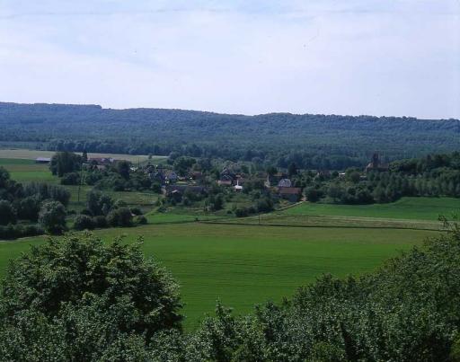 Bouconville-Vauclair (Aisne) Vue générale