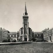 Bourbon-Lancy (Saône-et-Loire) L'Eglise de l'hospice CPA