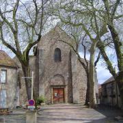 Bourbon-Lancy (Saône-et-Loire) L'Eglise Saint Nazaire