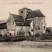 Bourbon-Lancy (Saône-et-Loire) L'Eglise Saint Nazaire CPA
