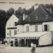 Bourbon-Lancy (Saône-et-Loire) L'Hôtel des Sources CPA