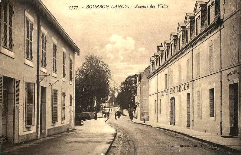 Bourbon-Lancy (Saône-et-Loire) L'Hôtel Saint Léger CPA