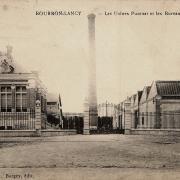 Bourbon-Lancy (Saône-et-Loire) L'Usine Puzenat CPA