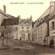 Bourbon-Lancy (Saône-et-Loire) Saint Léger CPA