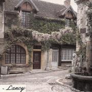 Bourbon-Lancy (Saône-et-Loire) Veilles maisons CPA