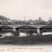 Bourg-et-Comin (Aisne) CPA Pont canal sur l'Aisne
