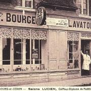 Bourg-et-Comin (Aisne) CPA Coiffeur