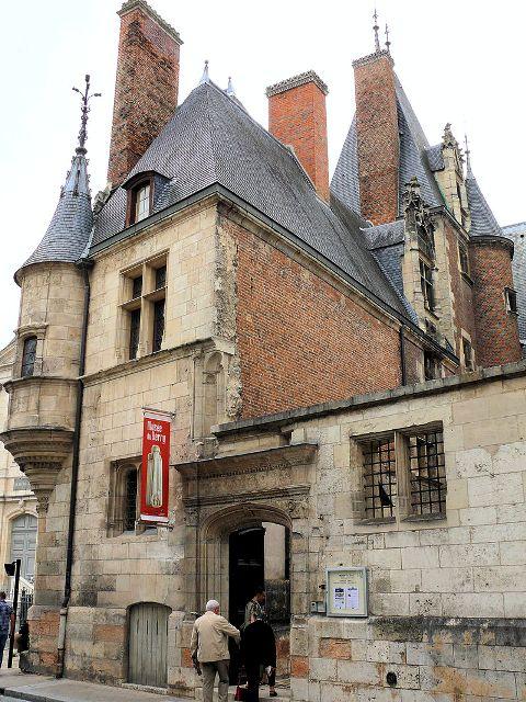 Bourges (18) L'Hôtel Cujas